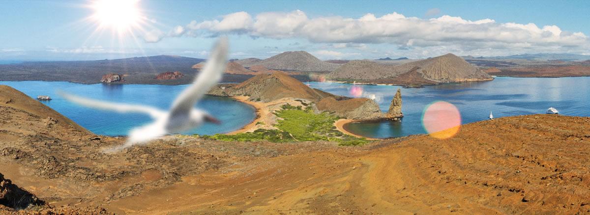 Ecuador. Isla San Bartolomé. Galápagos