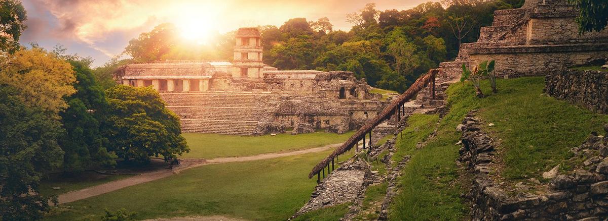México. Ruinas de Palenque. Chiapas