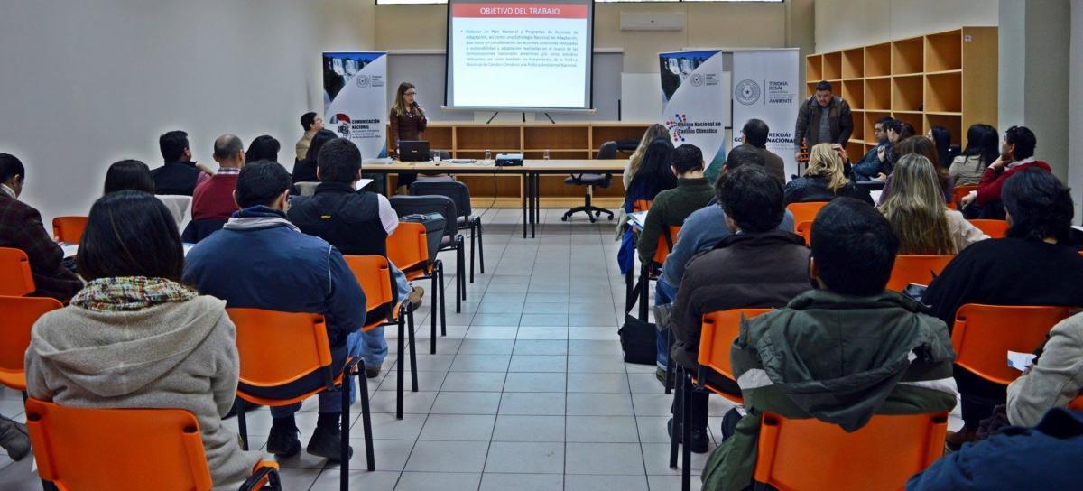 PARAGUAY: TALLER PREPARACIÓN DEL PLAN NACIONAL DE ADAPTACIÓN DE CAMBIO CLIMÁTICO