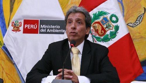 PERU: MINISTRO DE MEDIO AMBIENTE DE PERÚ HABLA DEL IMPORTANCIA DE APLICACIÓN DE LA LEY AMBIENTAL
