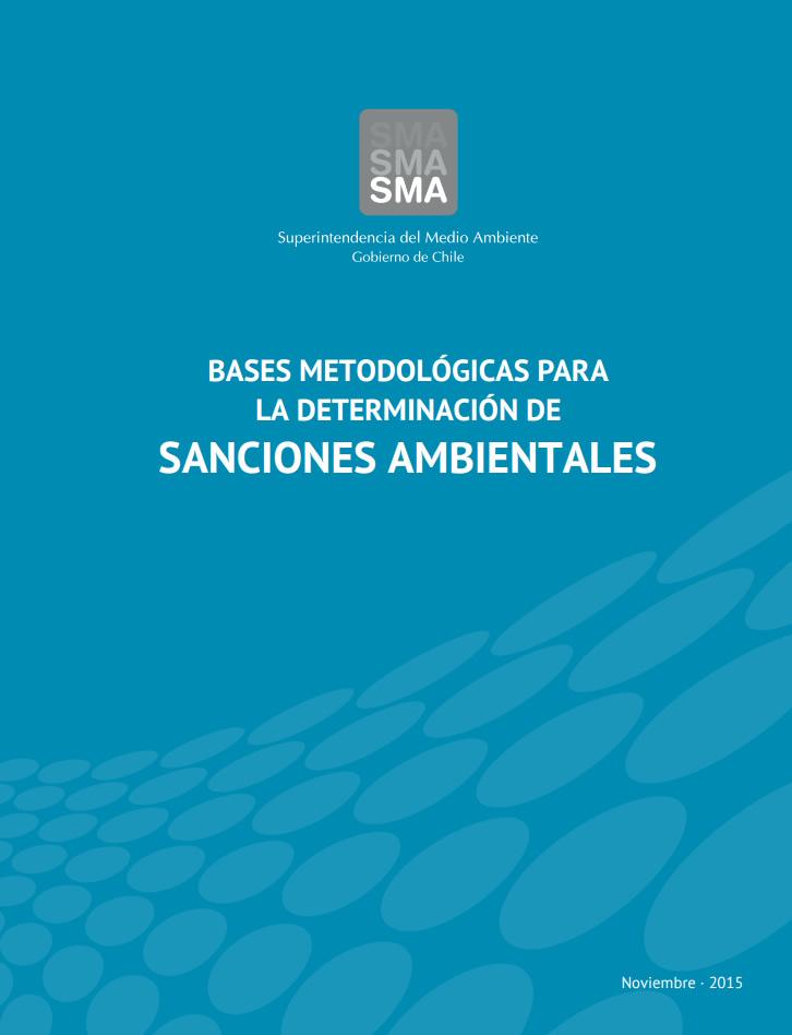 Bases metodológicas para la determinación de sanciones