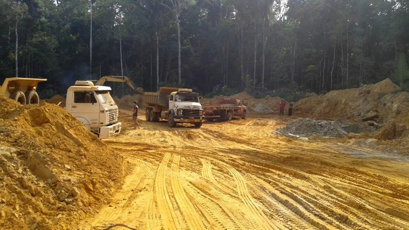 IBAMA suspende las obras en la carretera BR-319 y aplica una multa de R$ 7,5 millones