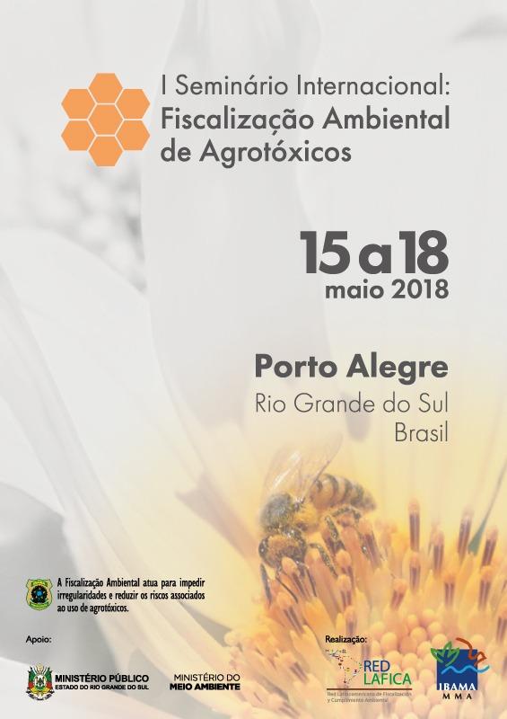 "I Seminario Internacional ""Fiscalización Ambiental de Agrotóxicos"""