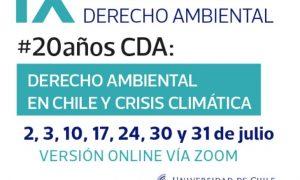 IX Jornadas de Derecho Ambiental