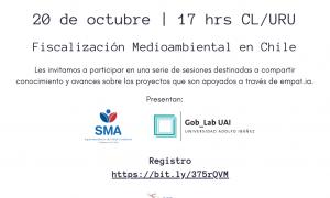 1a Llamada de Comunidad – Fiscalización Medioambiental en Chile