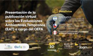 Presentación de publicación virtual sobre las Evaluaciones Ambientales Tempranas (EAT) a cargo del OEFA