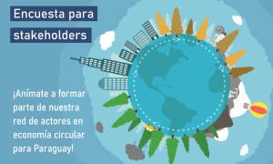 Presentan encuesta para identificar actores relevantes en el ámbito de la economía circular del país