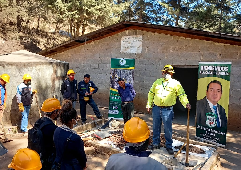 Capacitaciones para prevenir incendios forestales refuerzan trabajo a nivel nacional