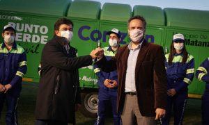 El Ministerio de Ambiente entregó maquinaria para la gestión de residuos sólidos urbanos en La Matanza