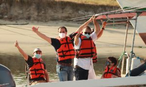 Se entregan equipos de control y vigilancia para Áreas Marinas y Costeras Protegidas