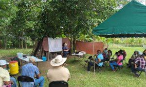 Organizaciones de Base Comunitarias se capacitan en Cambio Climático y Educación Ambiental