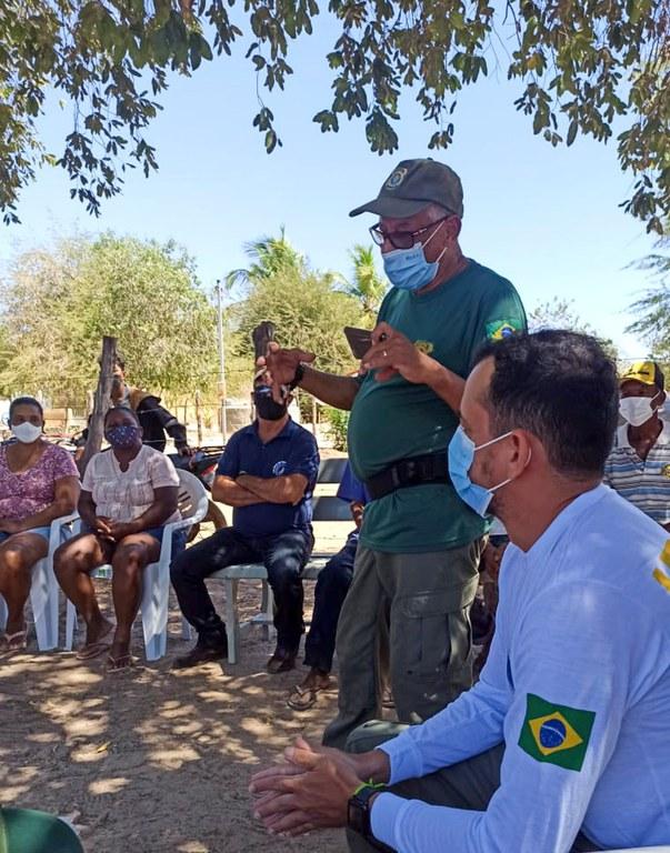 IBAMA realiza acciones de educación ambiental en la región del río São Francisco